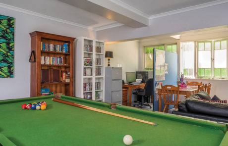 Ipswich Arafmi House_Recreational Room Pool Table
