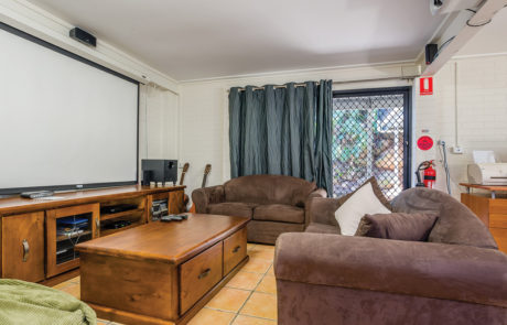 Mount Gravatt Arafmi House_Media Room